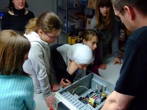 Einblicke am GirlsDay bei Hostserver in Marburg