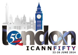 ICANN Logo 50London