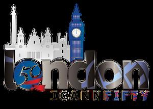 ICANN Logo 50London